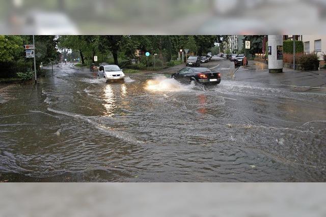 Bei Hochwasser und Starkregen bleibt immer ein Restrisiko