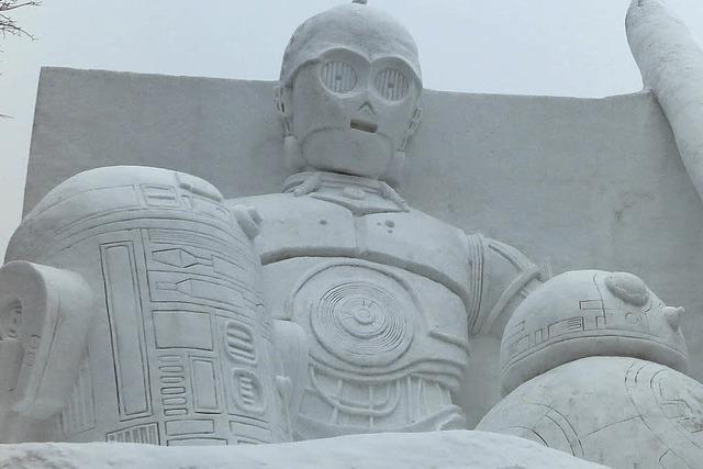 In Sapporo hat eines der größten Schneefestivals der Welt begonnen