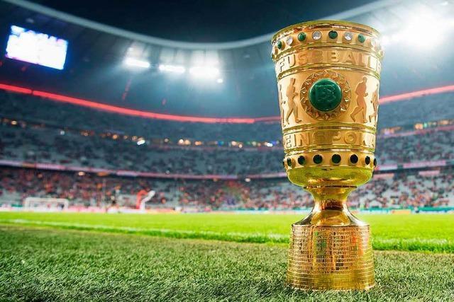 Pokal: Bundesliga-Quartett hofft auf Viertelfinale
