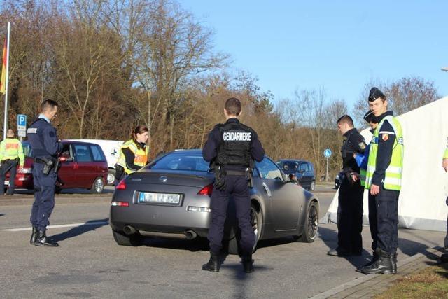 Deutsch-französische Kontrollen: Gemeinsame Suche nach Kriminellen