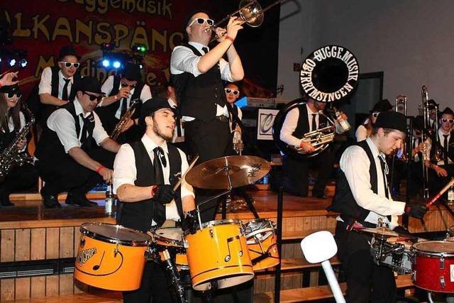 Fotos: Guggenmusiktreffen in Merdingen