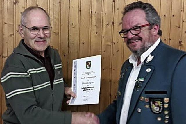 Oberschützenmeister ist seit 25 Jahren im Amt