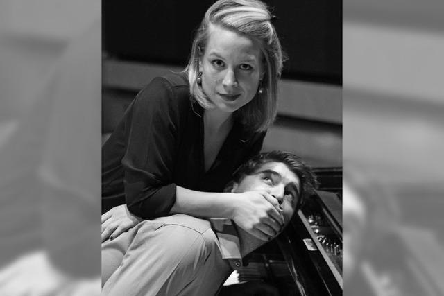 Theresa Winterer und Benedikt Fox im Stiftsschaffneikeller in Lahr
