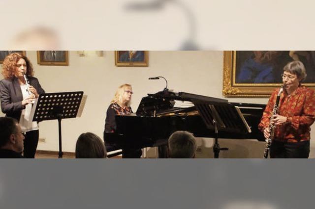 """""""Trio Concertant"""" begeistert in ungewöhnlicher Besetzung in der Kornhalle"""