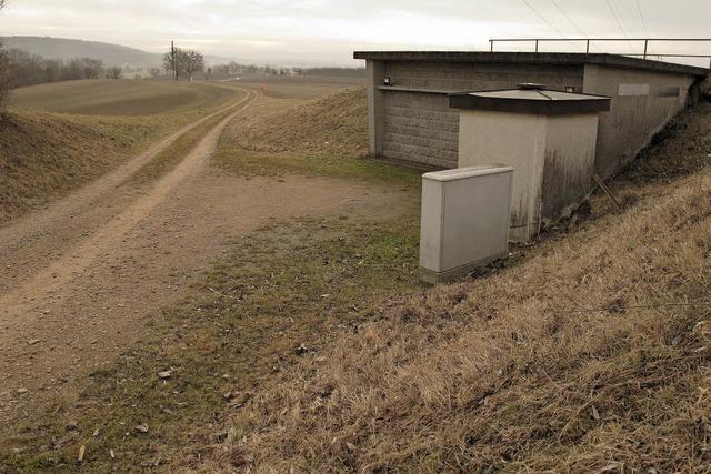 Grundwasserspiegel auch in Bad Bellingen und Schliengen niedrig