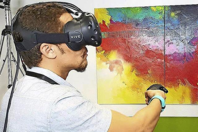 In den Donauhallen wird's virtuell
