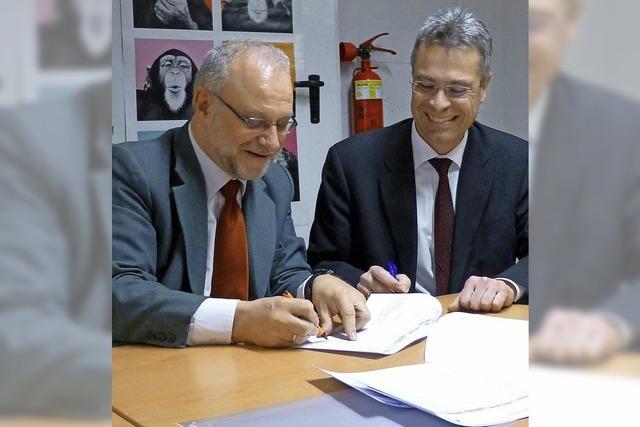 Rudolf-Eberle-Schule erneuert Zielvereinbarung