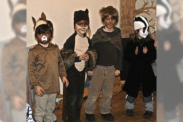 Kinder erfreuen Senioren in Gundelfingen