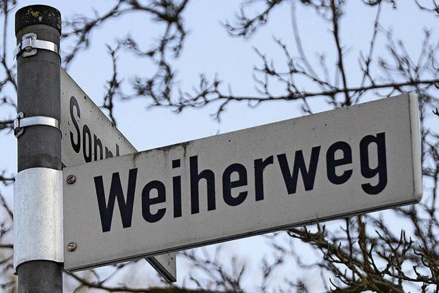 Schranke für den Weiherweg in Gundelfingen?