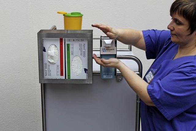 Krankenhaushygiene – Kampf gegen Keime