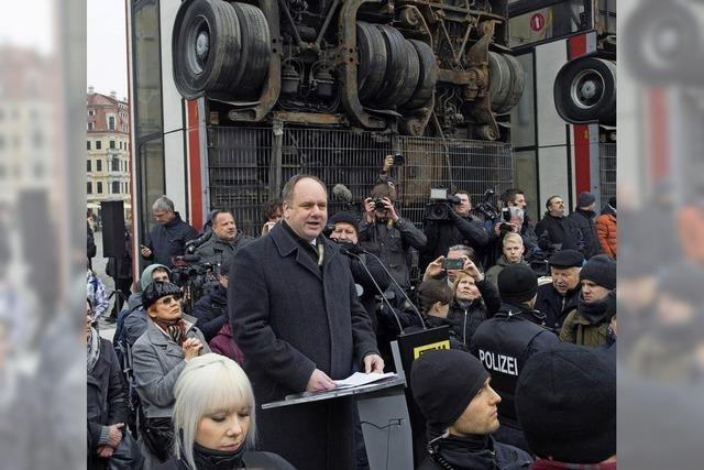 Dresdens OB erhält Morddrohungen