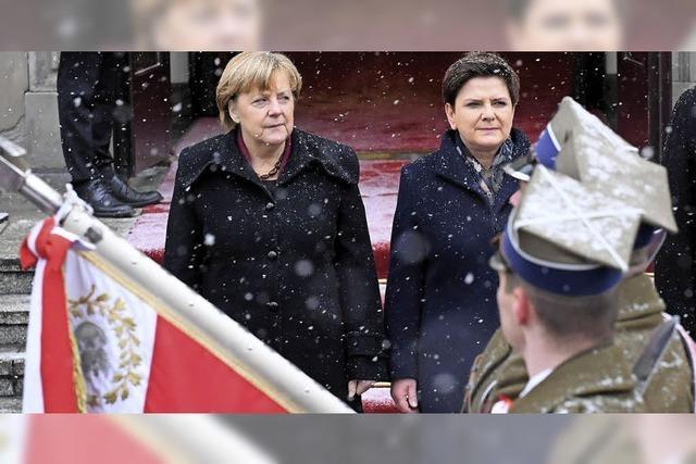 Heikle Mission in Warschau