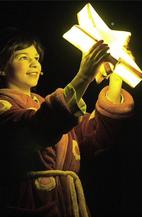 Laura macht eine fantastische Sternenreise.    Foto: Veranstalter