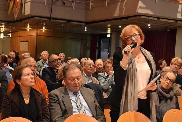 Kritik bei Bürgerinformation in Rheinfelden