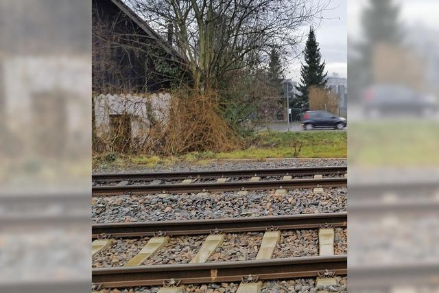 Gefahr an Bahngleisen