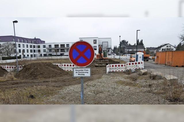 Parkplatz mit Beschränkung