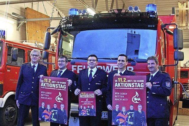Feuerwehr wirbt an Aktionstag für Nachwuchs