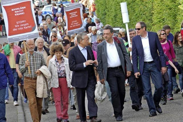 Gutachten untersucht Krach an der Bahnstrecke in Gundelfingen