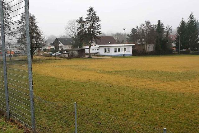 Schäden und Kommunikationspanne beim alten Sportplatz Heiligenzell