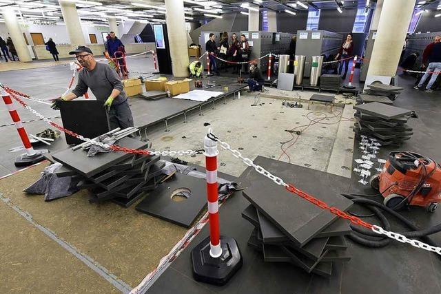 Beschädigter UB-Boden wird endlich repariert