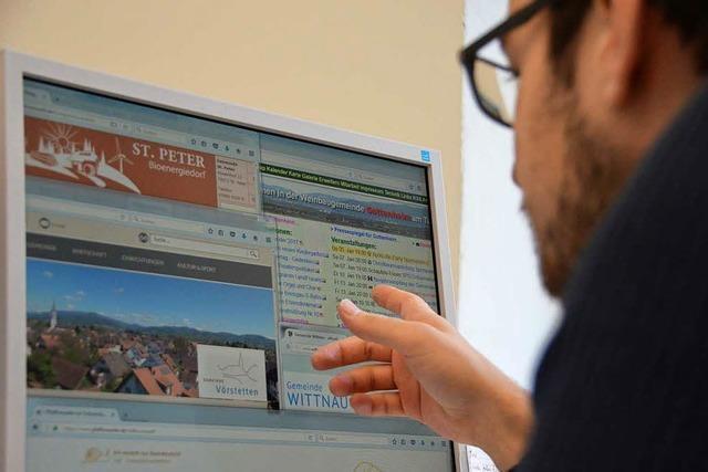 Wie gut sind die Homepages der Gemeinden im Hexental und am Batzenberg?