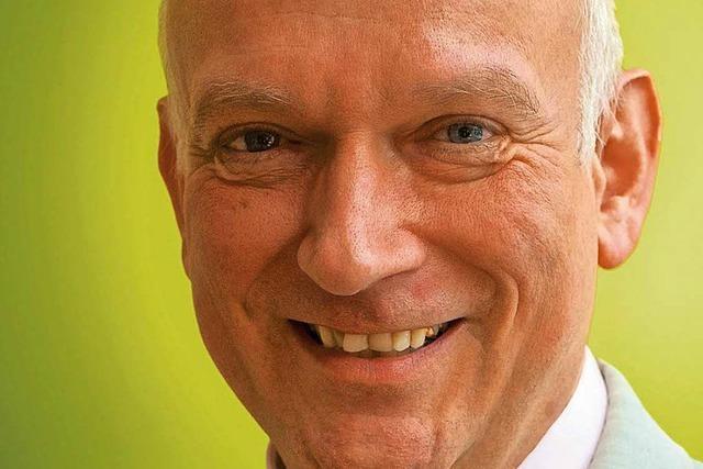 Christoph Ueffing kandidiert in Merzhausen