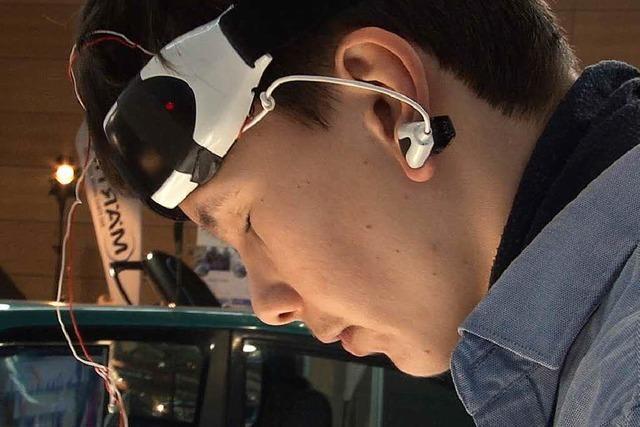 Gymnasiast aus Lörrach erfindet Apparat zum Gedankenlesen