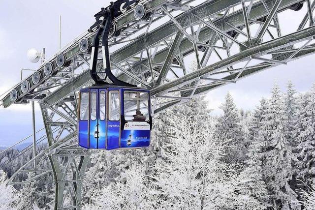 Schauinslandbahn fährt dritten Rekord in Folge ein