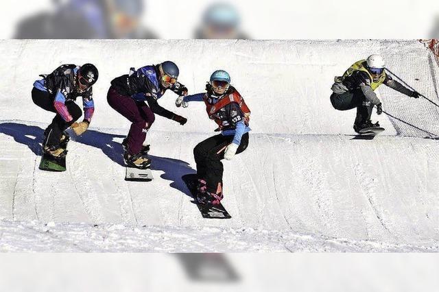 Start frei für den Snowboardcross-Weltcup