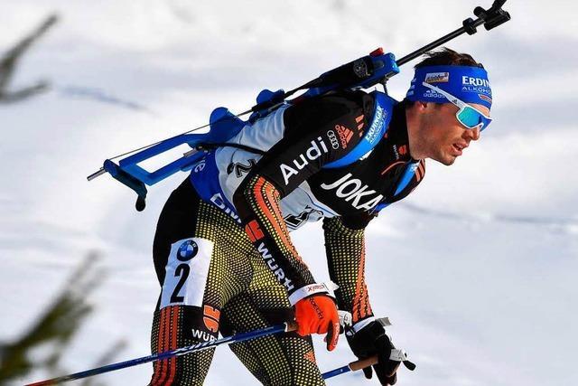 Biathlon-WM: Deutsche Mixed-Staffel holt WM-Gold