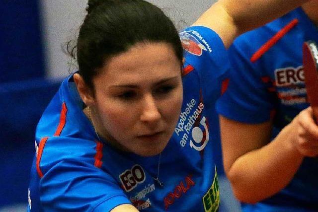 Ievgeniia Vasylieva ist für den ESV Weil im Dauereinsatz