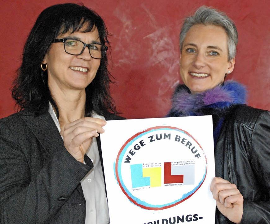 Die Organisatorinnen der Ausbildungsbö...t und Christina Mathesius (von links)   | Foto: Maja Tolsdorf