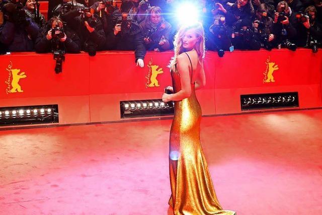 67. Berlinale startet: Gedränge auf dem roten Teppich