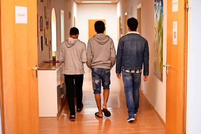 Baden-Württemberg lässt minderjährige Asylbewerber erfassen