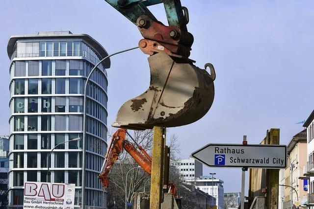 Die nächste Großbaustelle in Freiburg kommt