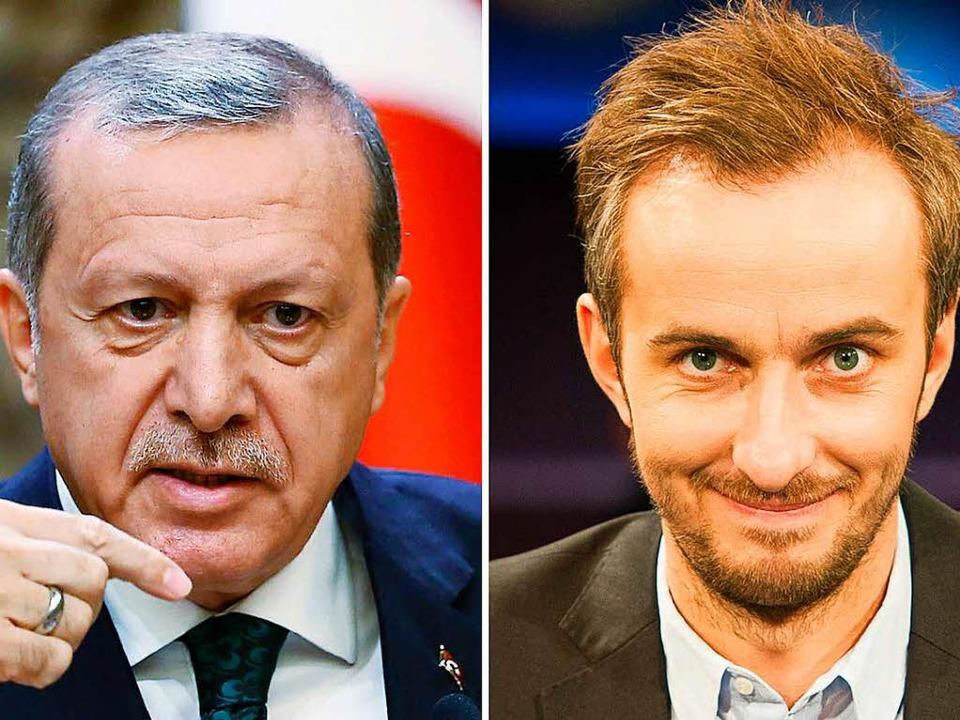 Erdogan und Böhmermann  | Foto: dpa