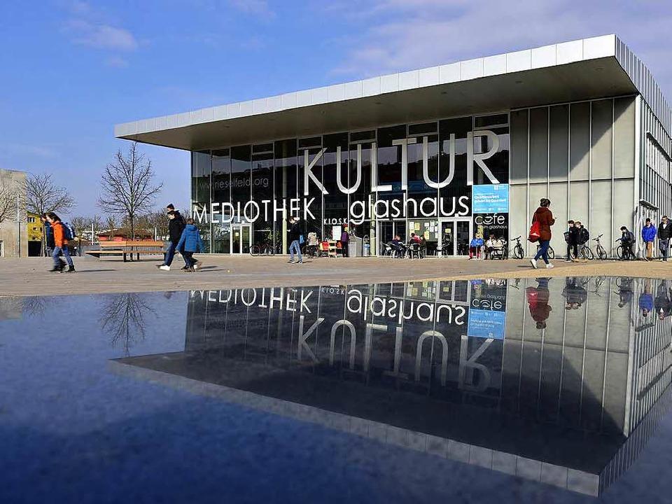 Ein Ort für Quartiersarbeit: das Glashaus im Stadtteil Rieselfel  | Foto: Thomas Kunz