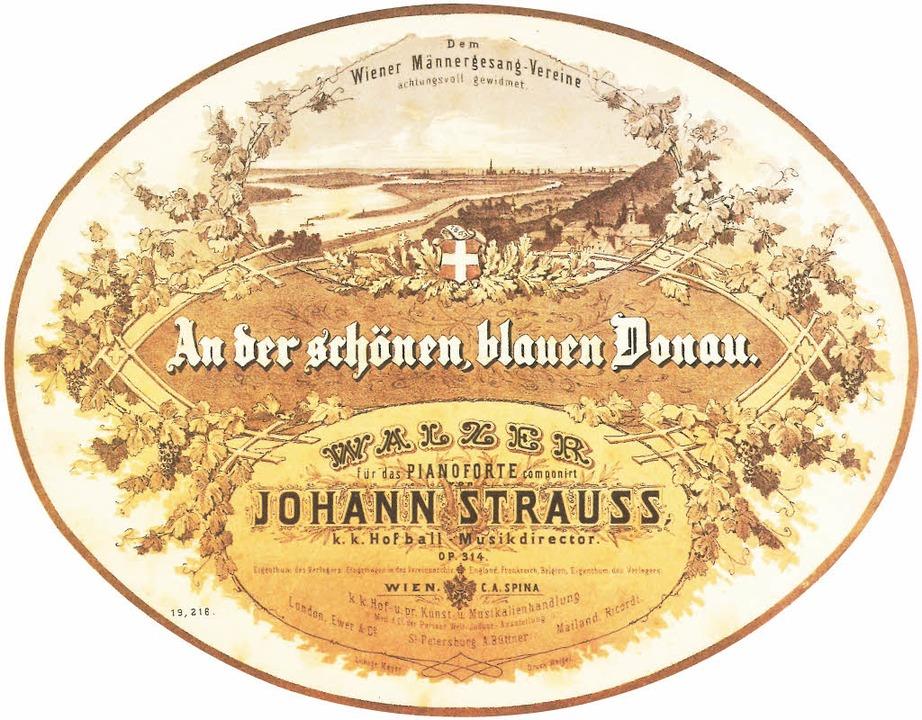 Notenblatt-Titelvon 1867  | Foto: Verlag