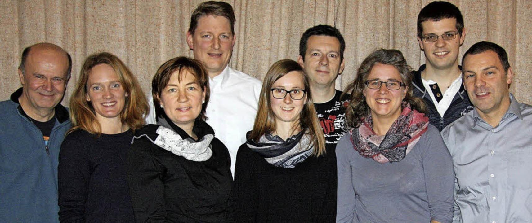 Der neu strukturierte Vorstand des Mus...a Schmidt, Sven Gut und Ralf  Ernst.    | Foto: Bronner