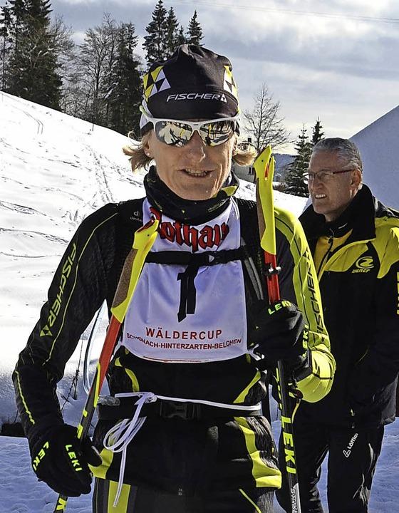 Stolze Siegerin: Barbara Beckert aus Kirchzarten  | Foto: zwick