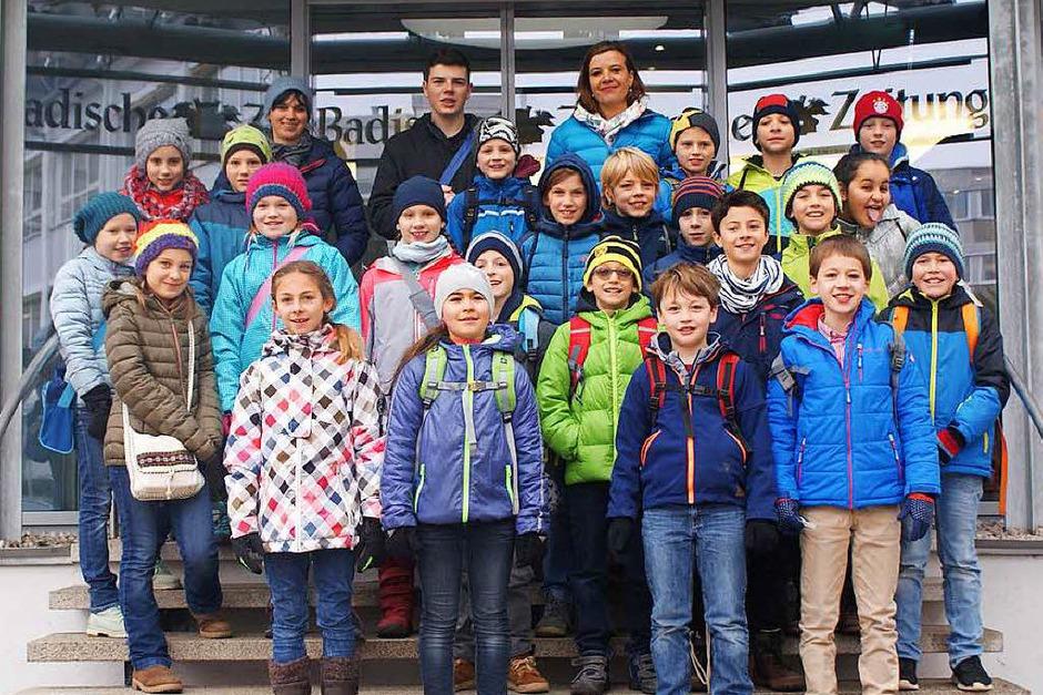 Klasse 4b der Emil-Thoma-Grundschule aus Freiburg (Foto: privat)