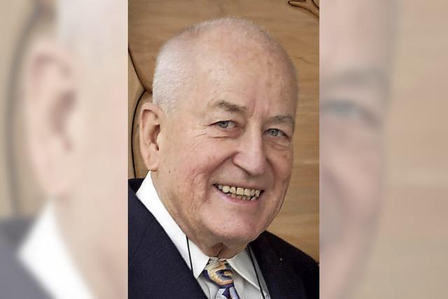 Horst Bergdoldt wurde 80