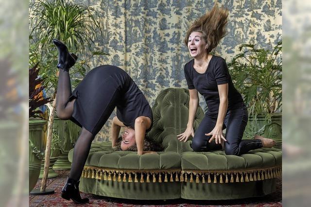 Stabile Eskalation von Ulrike Haidacher und Antonia Stabinger im Teufelhof in Basel