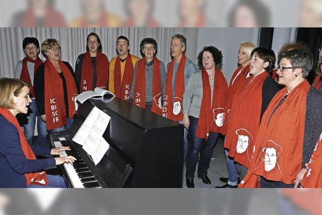 Endinger Gemeindechorsänger als Musical-Stars