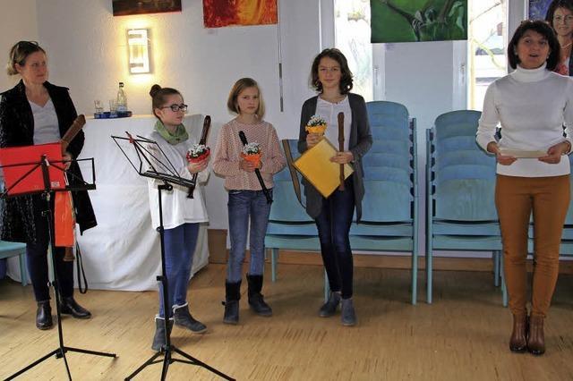 Neujahrsempfang als Forum für junge Musiker