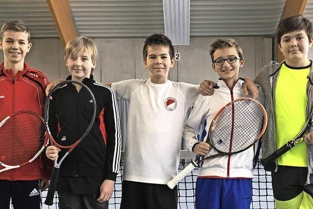 Junioren U 14 des TC RW Waldkirch erfolgreich