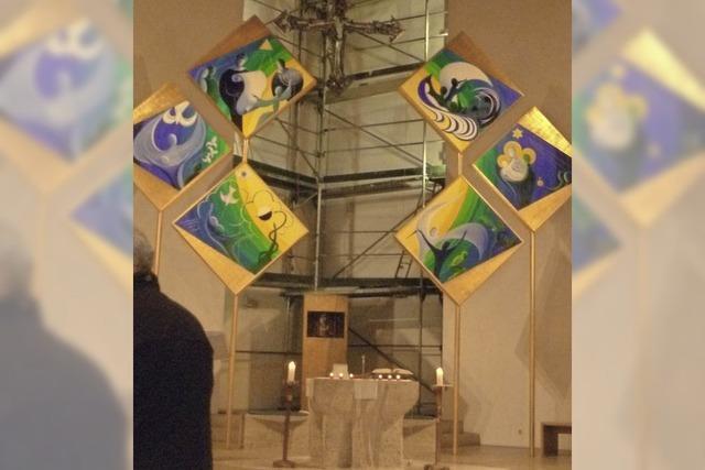 Kirchturm von St. Michael wird innen restauriert