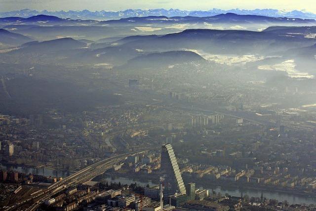 Basel und die Alpen