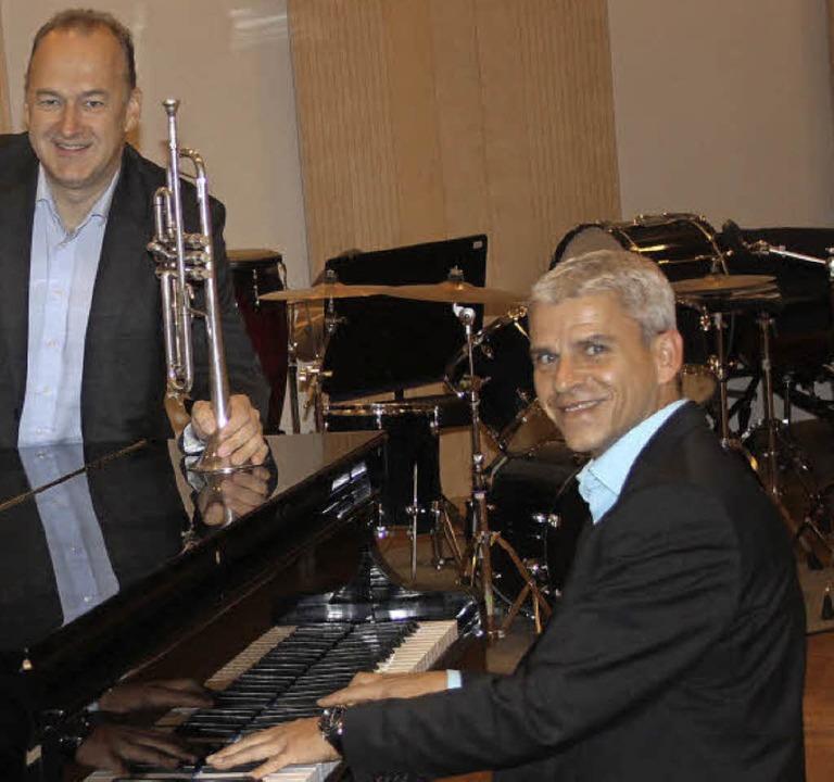 Musikalisch unterwegs: BDB-Präsident P...t BDB-Akademiedirektor Christoph Karle  | Foto: Privat