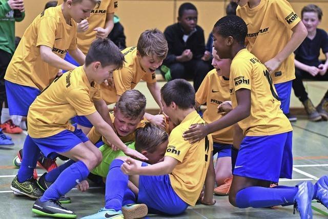 Futsalmeister im Bezirk